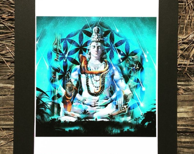 Shiva Reborn Matted Prints By Enlighten Clothing Co