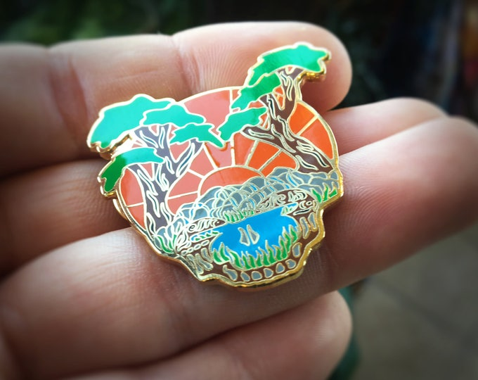 Sunshine Daydream Steal Your Face Grateful Dead Pin