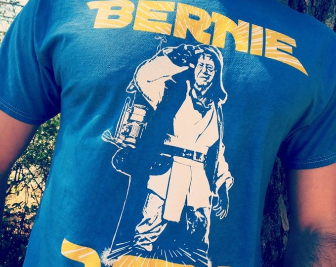 Bernie Wan Kenobi 2020 Tee Shirt, Feel The Bern, Bernie Sanders For President
