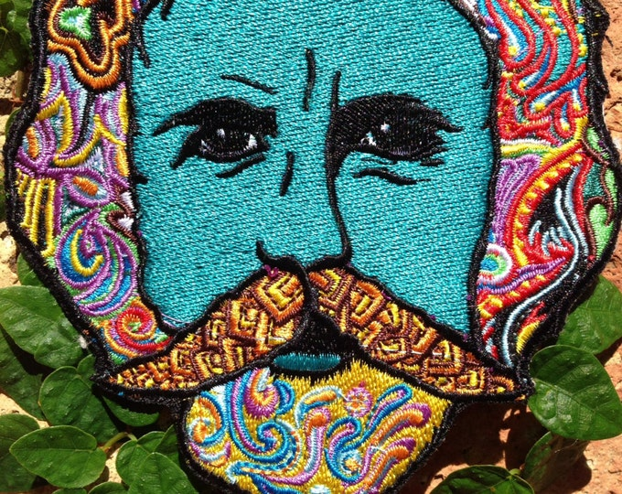 Bob Weir Grateful Dead Patch By Melanie Bodnar
