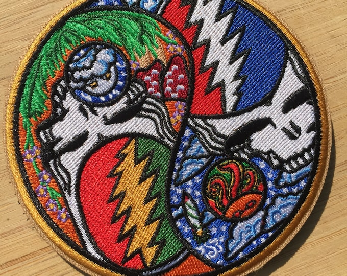 Night And Day Yin Yang Stash Patch
