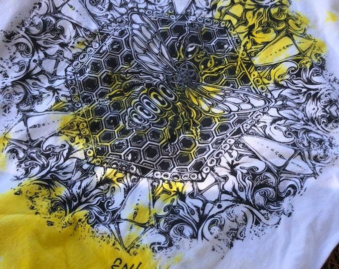 Bee Alive Tie Dye Tee