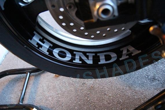 Honda Moto Jante Int 233 Rieure Stripe Roue Stickers Bande