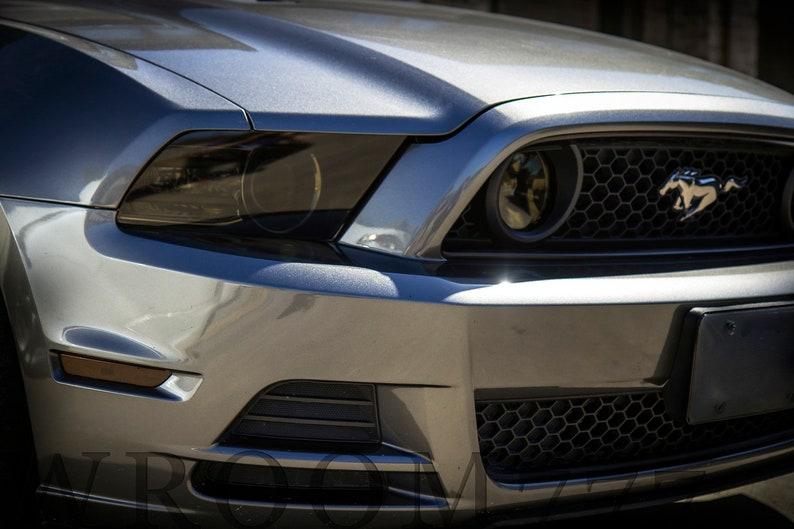 Ford Mustang Head Tail Light Fog Light Side Marker Precut Etsy