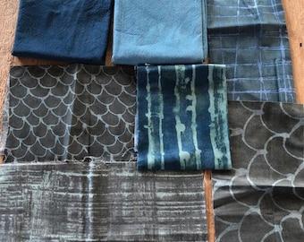 Multiple colorways Bullseye Design African Fabric Scrap Bag ~ One Pound
