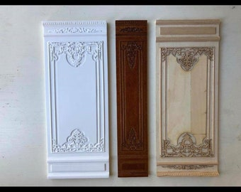 1/12th scale wall panels Special Order for Jeanet Nuijens