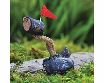 Miniature Fairy Garden letter box mailbox