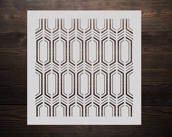 Hexagon stencil | Etsy