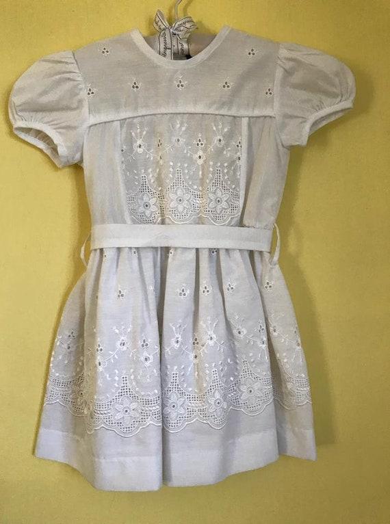 Vintage 90's mexican dress vestido mexicano christ
