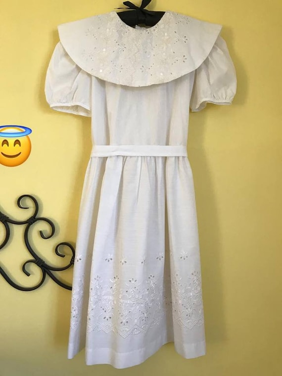 Vintage 90's mexican dress vestido mexicano first