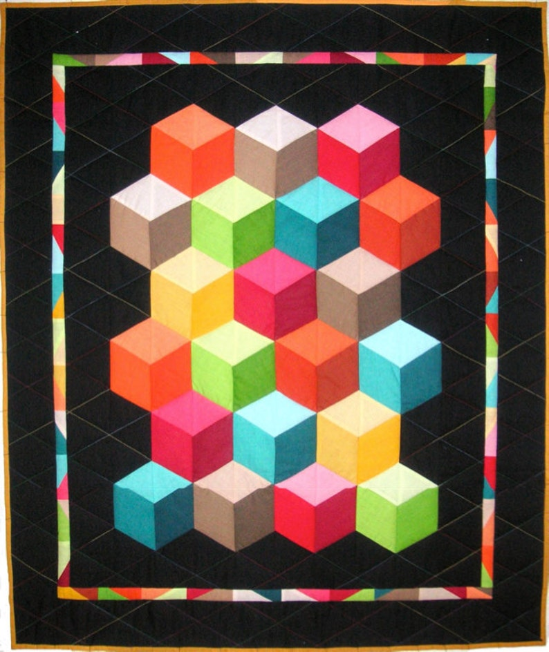 Baby Blocks Quilt Pattern.Baby Blocks Quilt Pattern Lessa Siegele S Modern Quilt Pattern Which You Will Use Time After Time Make The Perfect Baby Rug Or Knee Rug