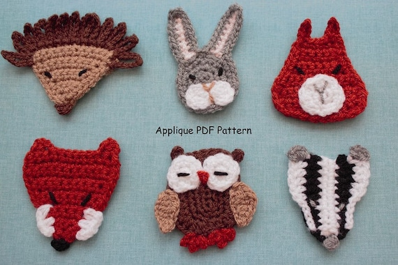 Woodland applique patterns: acrylic templates kallosphere creative