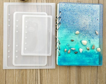 Resin jewelry mold etsy silicone mold notebook cover resin mold molds silicone moulds epoxy diy pendant jewelry making craft moulds jewelry diy supplies aloadofball Choice Image