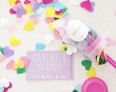Spread the Love confetti party popper!