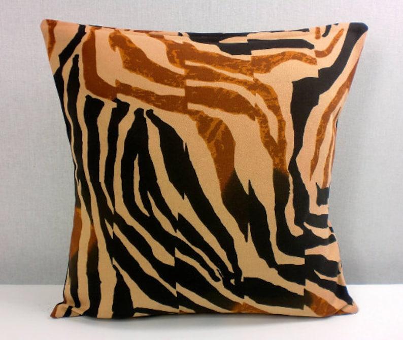 Pillow Cover Pillow Cover Pillow Cover 40x40 Brown Black Safari