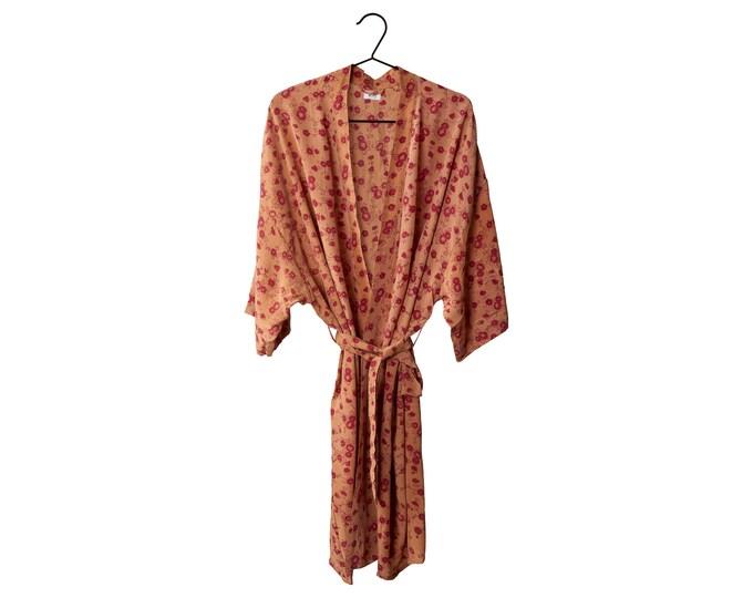 Crepe Silk kimono midd