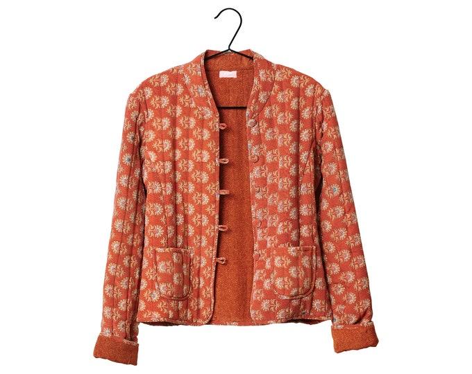 Quilted Silke jakke Aura