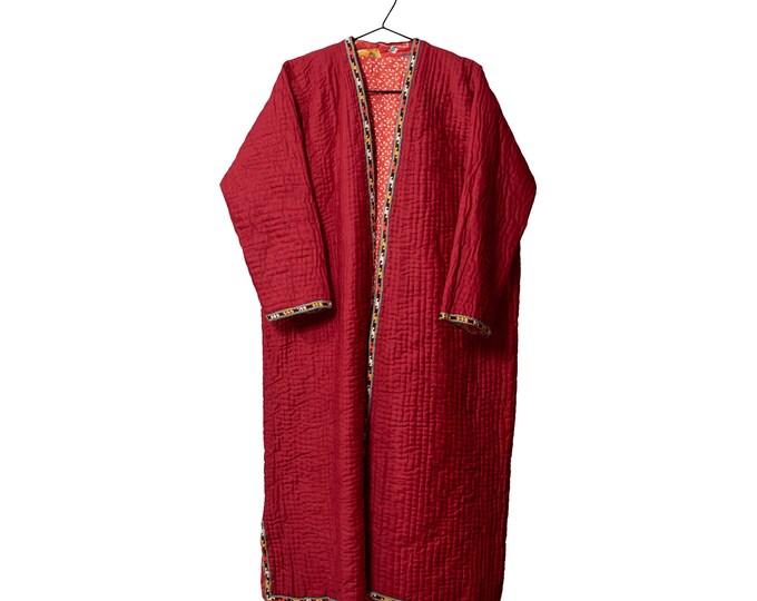 Uzbek vintage chapan