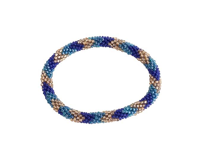 Perle armbånd / Nepal bracelet / roll on bracelet