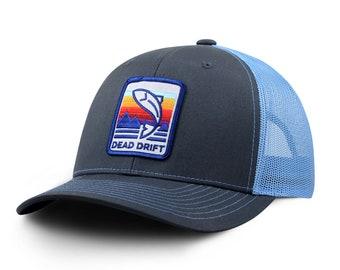 Blue Halo Fly Fishing Trucker Hat