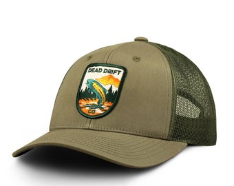 8c60726f6a4 ... cheap fly fishing hat rising loden snap back 36817 89337