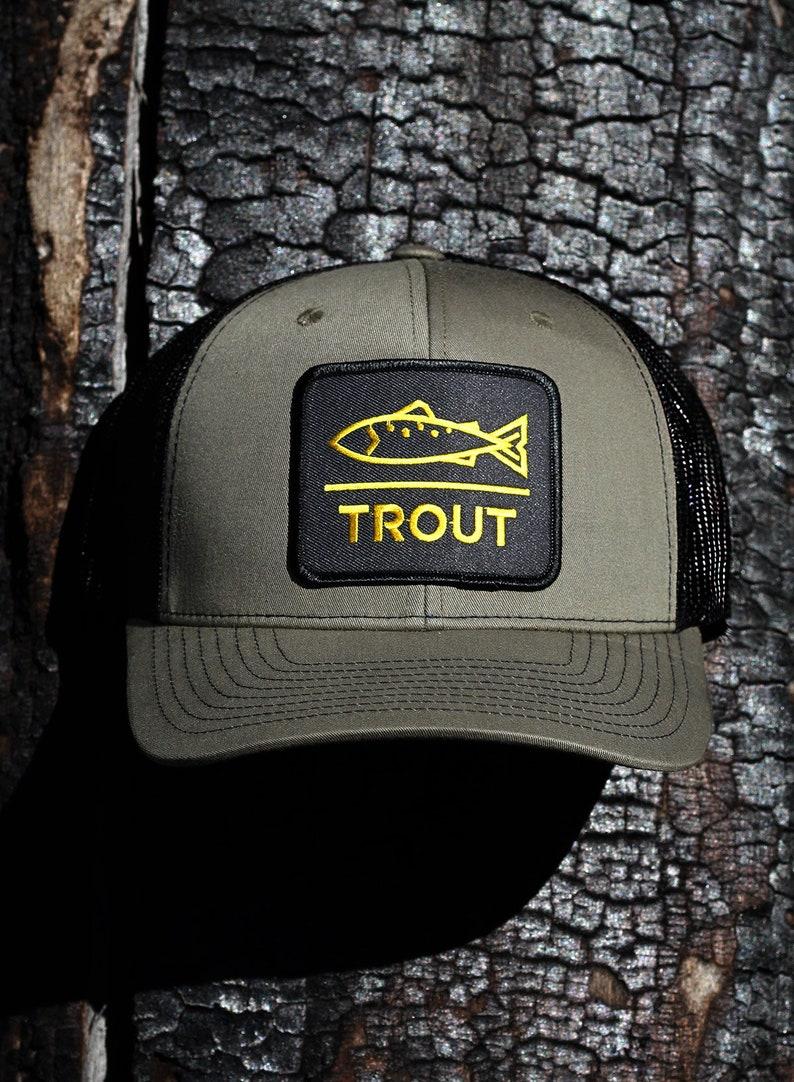 9cccf56743567 Modern Trout Trucker Hat Dead Drift Fly Fishing