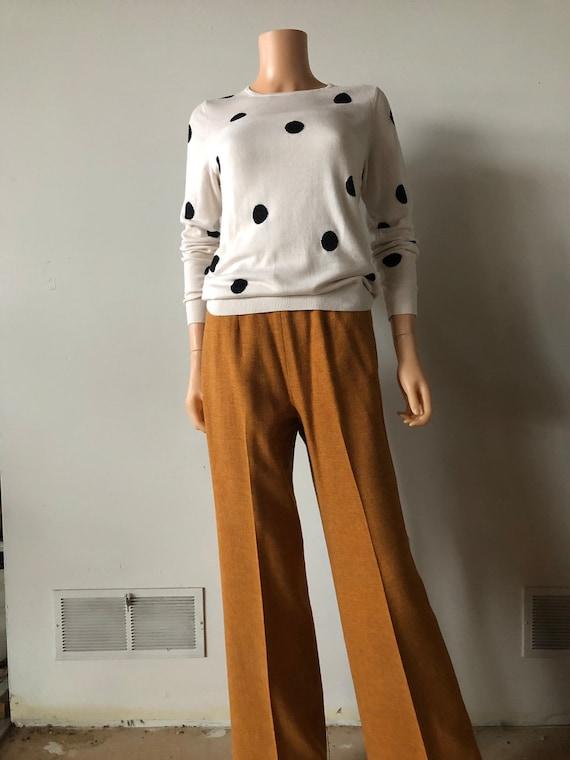 Gold Pendleton pants