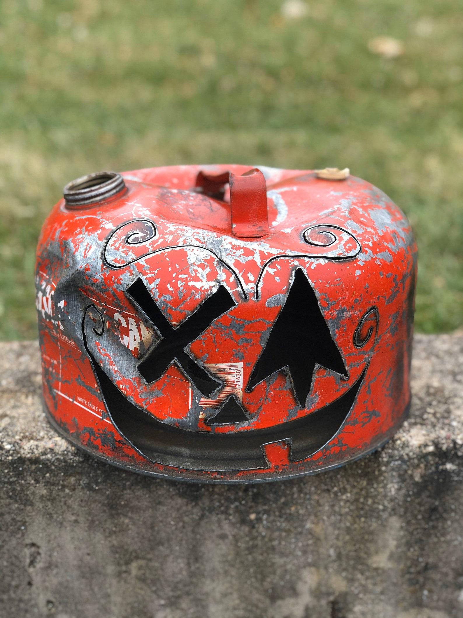 Gas Can Jack O Lantern Lanterns Page Two