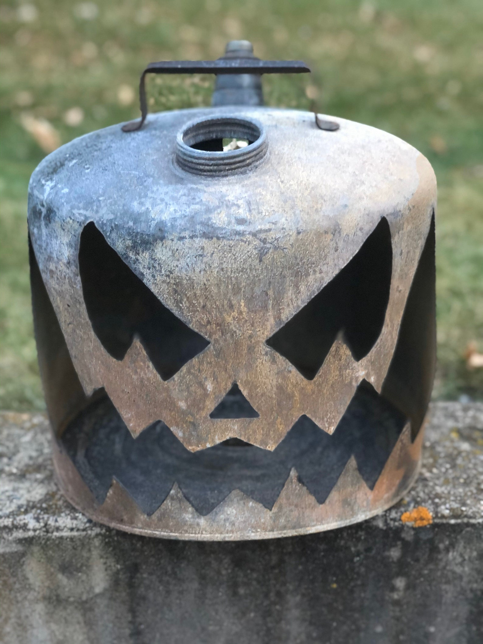 Gas Can Jack O Lanterns