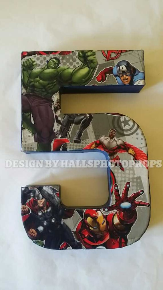 Superhero Birthday Cake Smash Centerpiece Avengers Costume Hulk Iron Man Captian America Thor Personalized Baby Shower Nursery Decoration