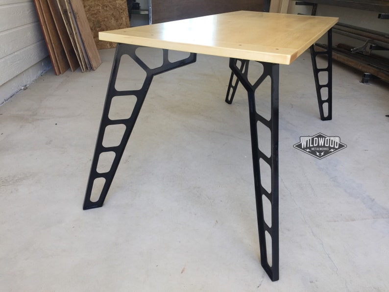 Mid Century Modern DIY Table Legs