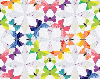 Butterfly Effect English Paper Piecing Pattern - PDF Download