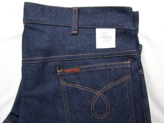 Vintage Deadstock Saddle King Jeans 36 X 31 Straight Leg Raw Etsy