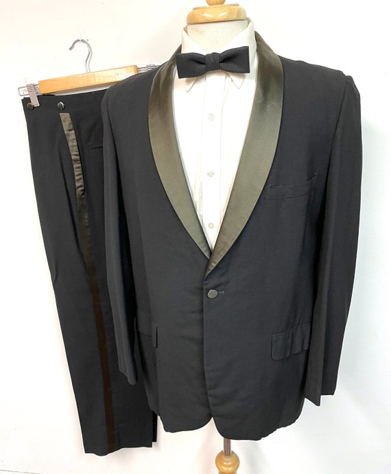 Vintage 1960s Mod Tuxedo 40 R ~ Rockabilly WEDDING