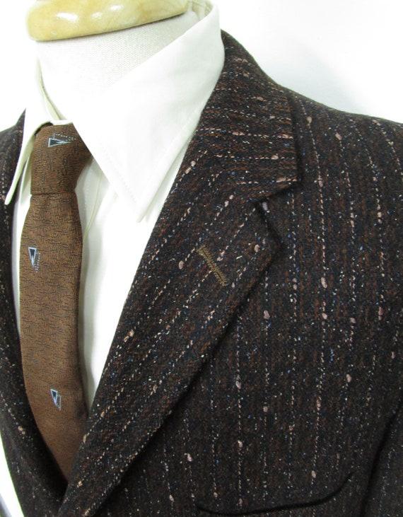Vintage 1950s ATOMIC FLECK blazer 42 R ~ Rockabill