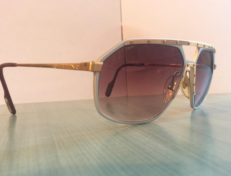 Alpina M6 24k oro plateado plata Alemania de gafas de sol