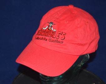 af892ccc773 Vintage TERRIBLE S LAKESIDE CASINO Adjustable Baseball Cap Hat (One Size  Fits All)