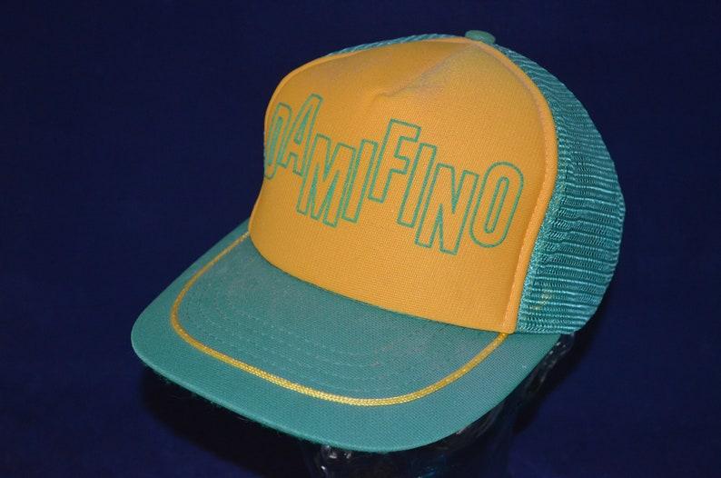 af560624df8 Vintage Humorous DAMIFINO Adjustable Baseball Cap Hat One