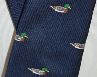 Vintage Pintail Duck Full Length Necktie (Pintail)