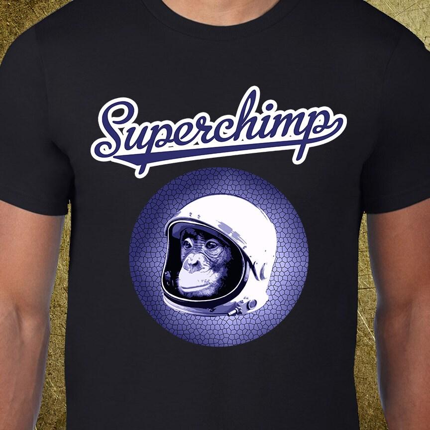Superchimp Tee, tshirt créatif, tees graphiques pas cher, acheter des  d anniversaire bdb9523a860