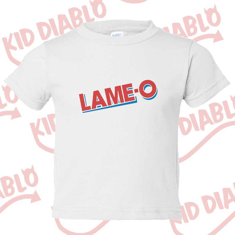 d1d7eadf9 Lame-O Toddler Tee Creative tshirt snarky tees ironic tees | Etsy