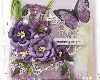 Shabby Chic Friendship / Get Well / Cancer Support / Thinking of You Greeting Card