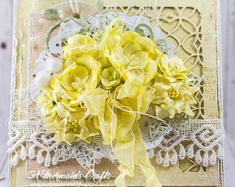 Shabby Chic Greeting Card Suitable for Any Occasion