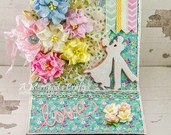 Shappy Chic Love Easel Card / Gift Box Combo