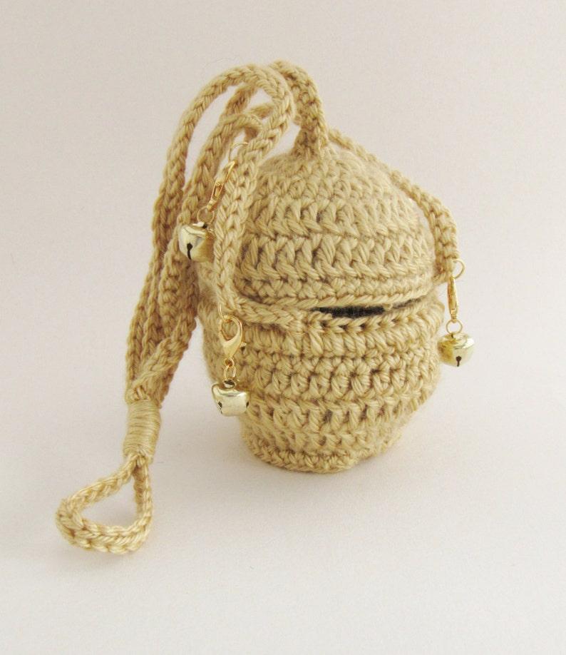 Gold Censer with Detachable Bells  Crocheted  children's image 0