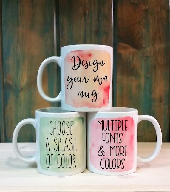Custom Printed Mugs Customized coffee cups Canada