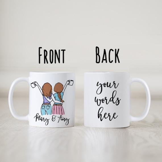 Custom Mug Best Friend Mug Sisters Forever Mug Best Etsy