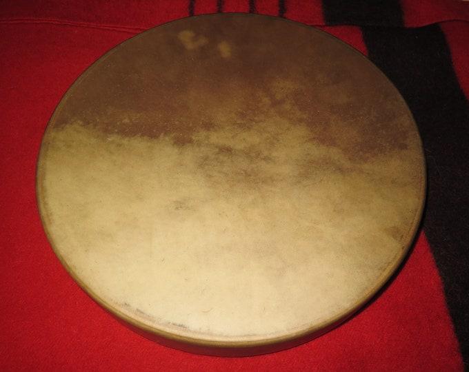 "SALE- Native American 15"" Buffalo or 15"" Elk Drum  Deep Awakening Powerful Shaman Drum"