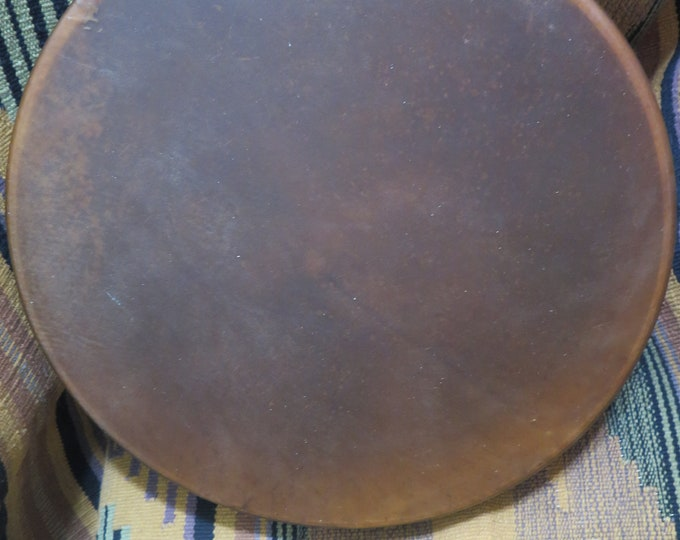"Native American Hand Drum 12"" Bear Hide / Apaloosa Horse or Elk Hide Drums something special these drums for their size a nice Sounding Drum"