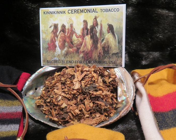 Native American Herbs Ceremonial Sacred Offerings a Smoke Mix of Organic Plants & Herbs